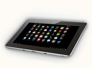 screenshot of tablet