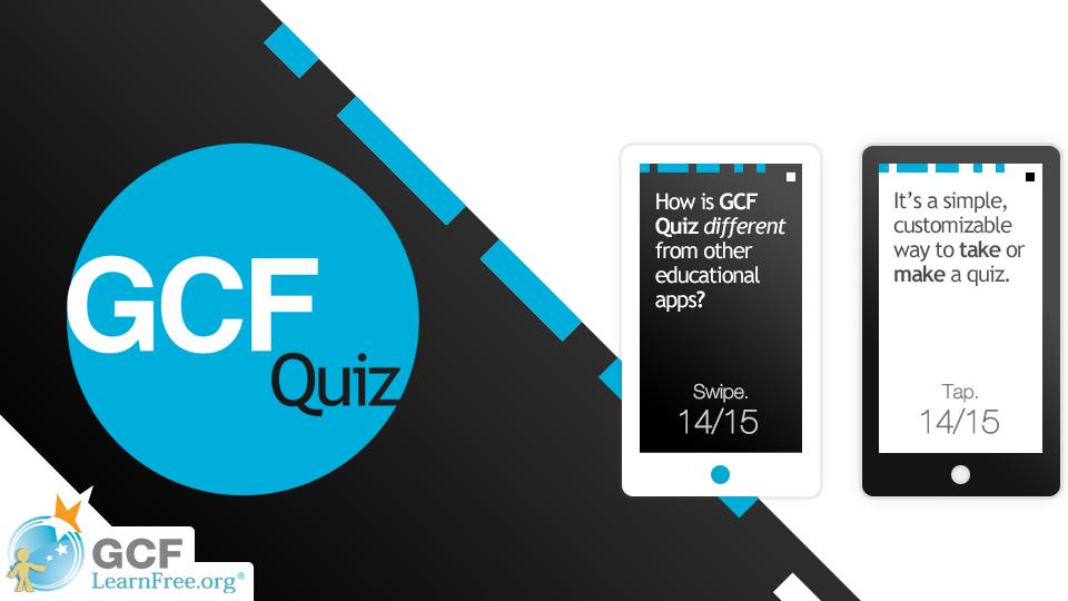 GCF Quiz App