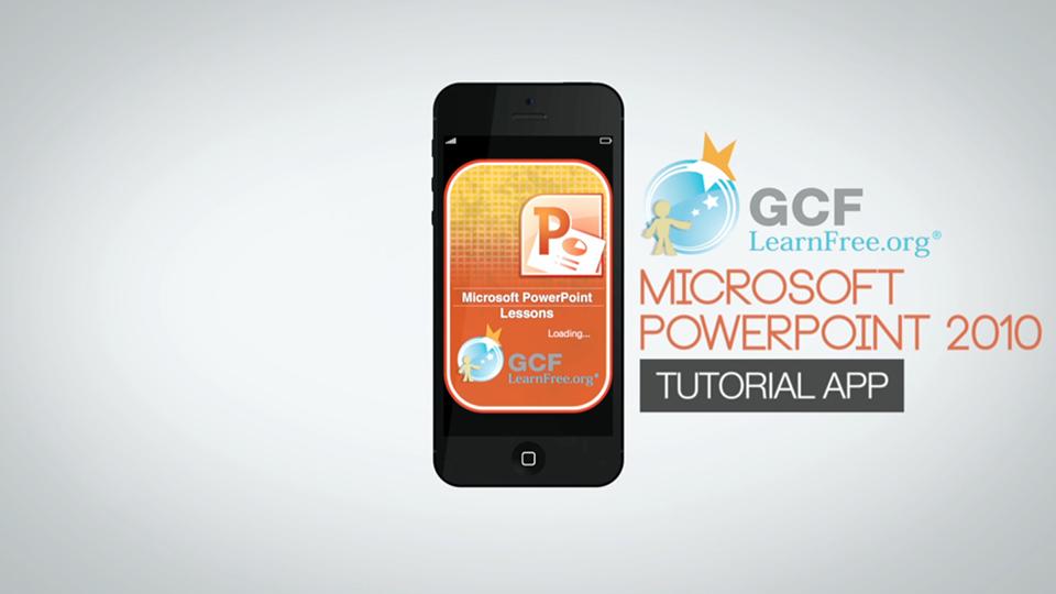 Powerpoint 2010 App