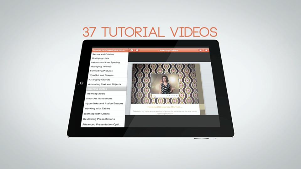 37 Video Tutorials