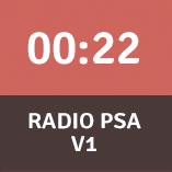 Radio PSA 1 (22 seconds)
