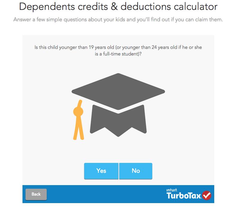 screenshot of TurboTax.com