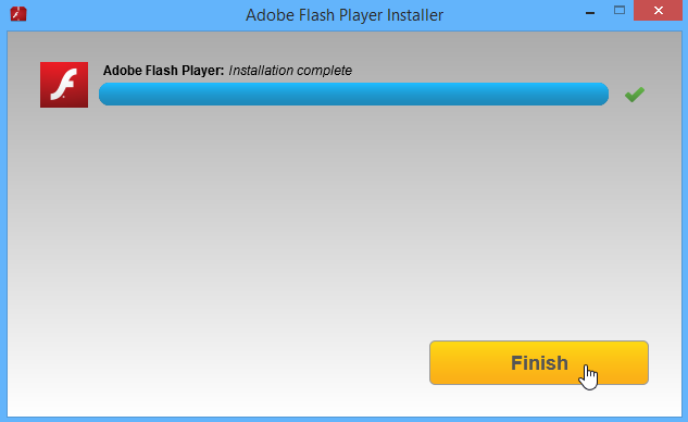installing Flash Player
