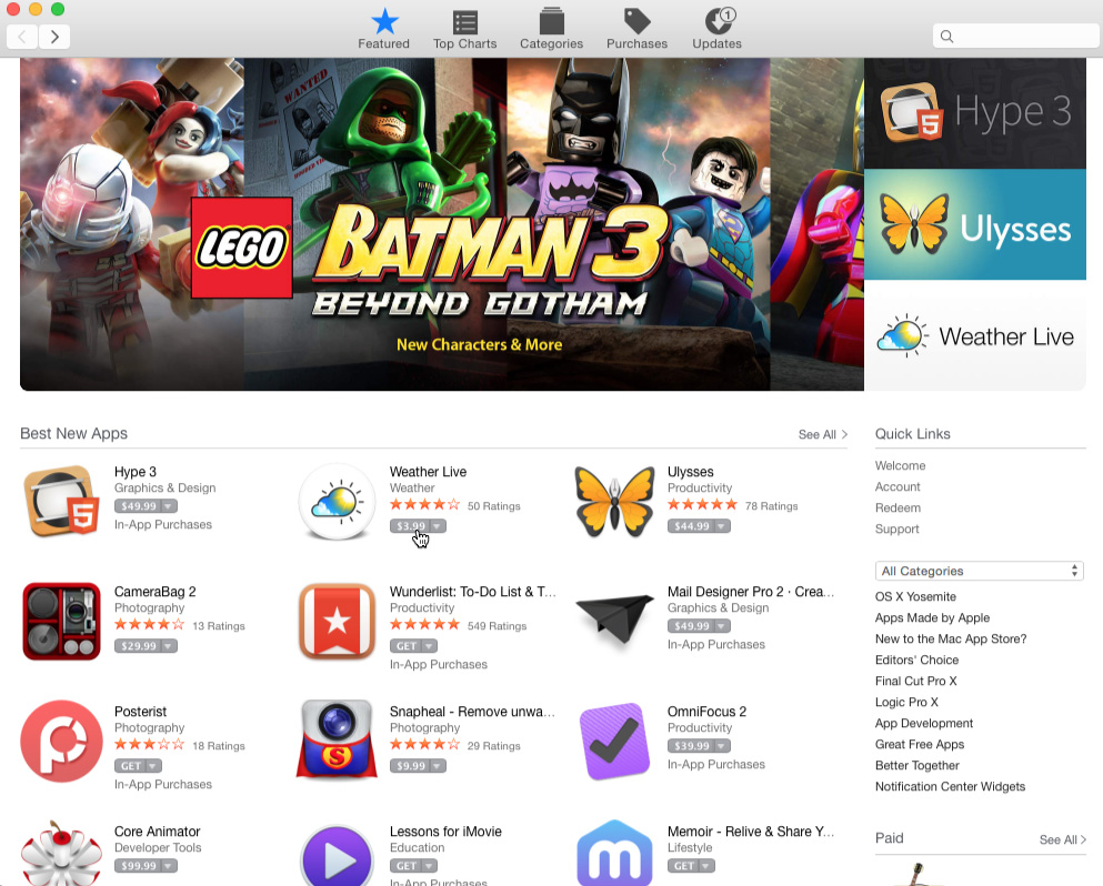 De Mac App Store