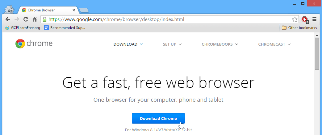 google chrome exe file free download for windows 8