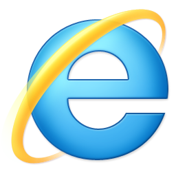 the internet explorer icon