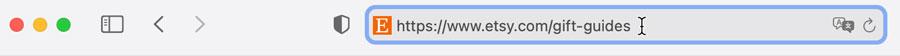 Safari address bar