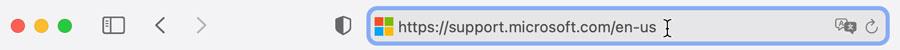 Pasting URL into address bar