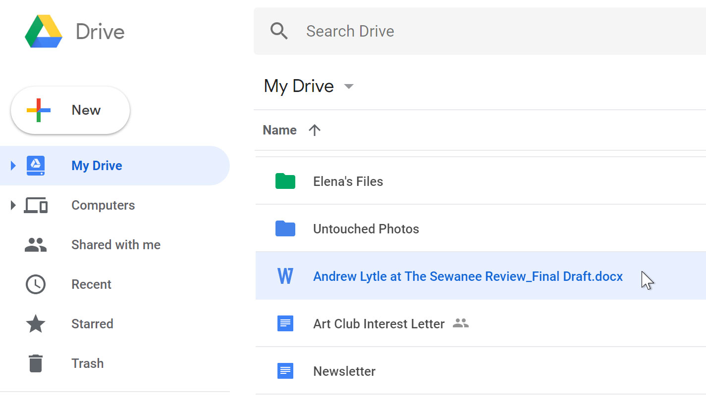 Google Drive: Uploading Files to Google Drive