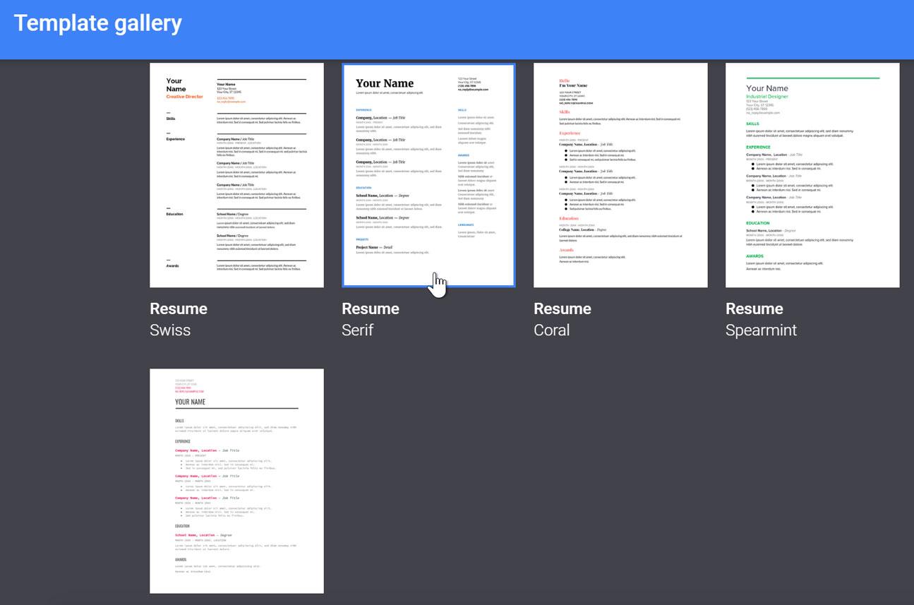 Google Sheets: Creating Google Docs