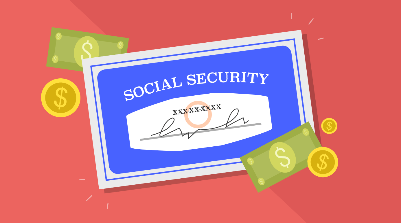 illustration of a Social Security card