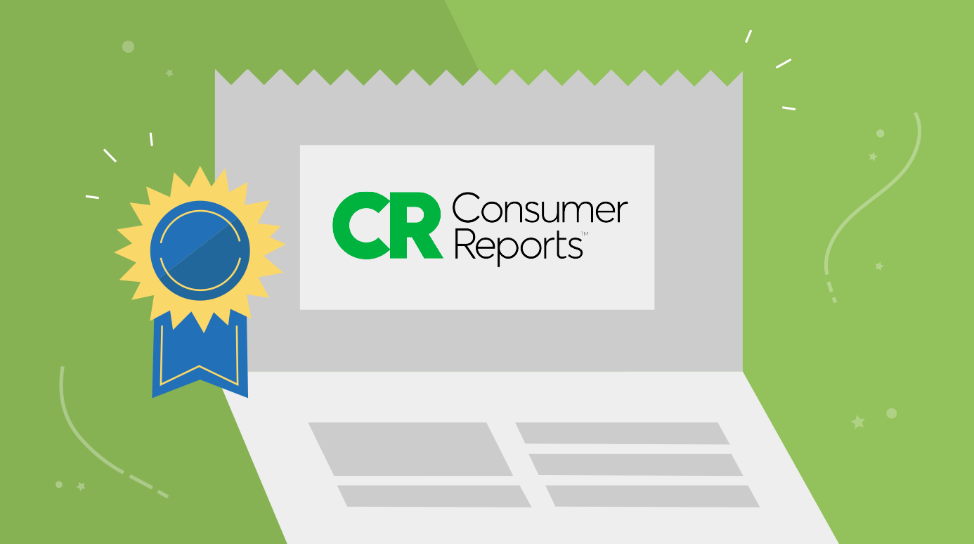 illustration of a Consumer Reports award