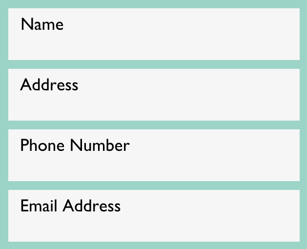 address with phone numbers
