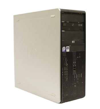 a computer tower case