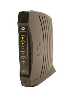 een breedbandmodem