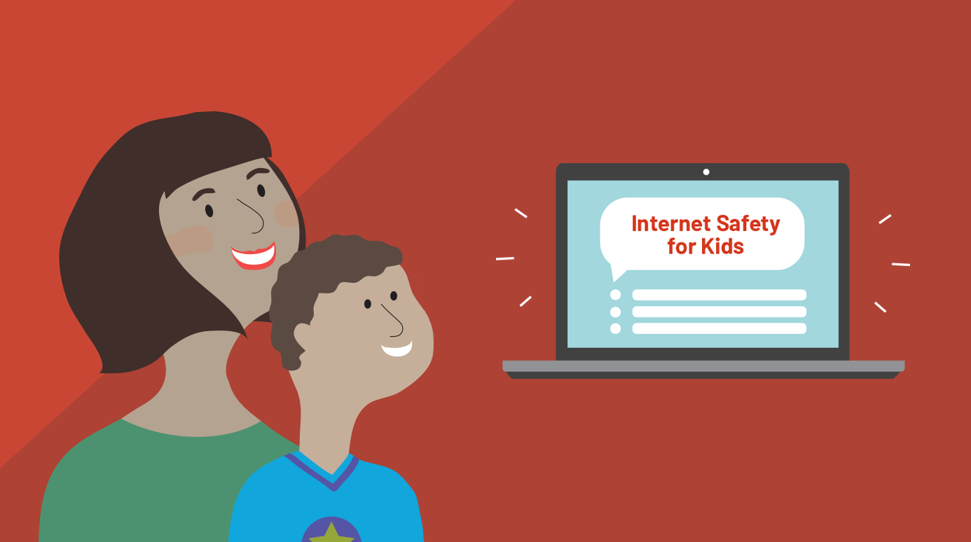 Intro illustration for Internet Safety for Kids