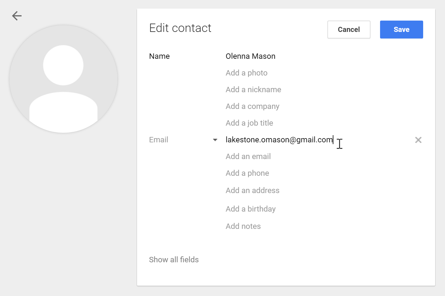 how to delete email contacts gmail
