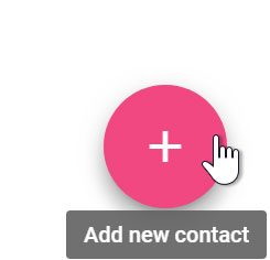 Clicking add new contact