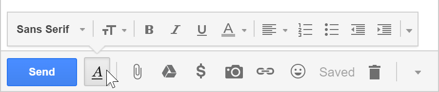 how to make font larger on incoming emails in gmail