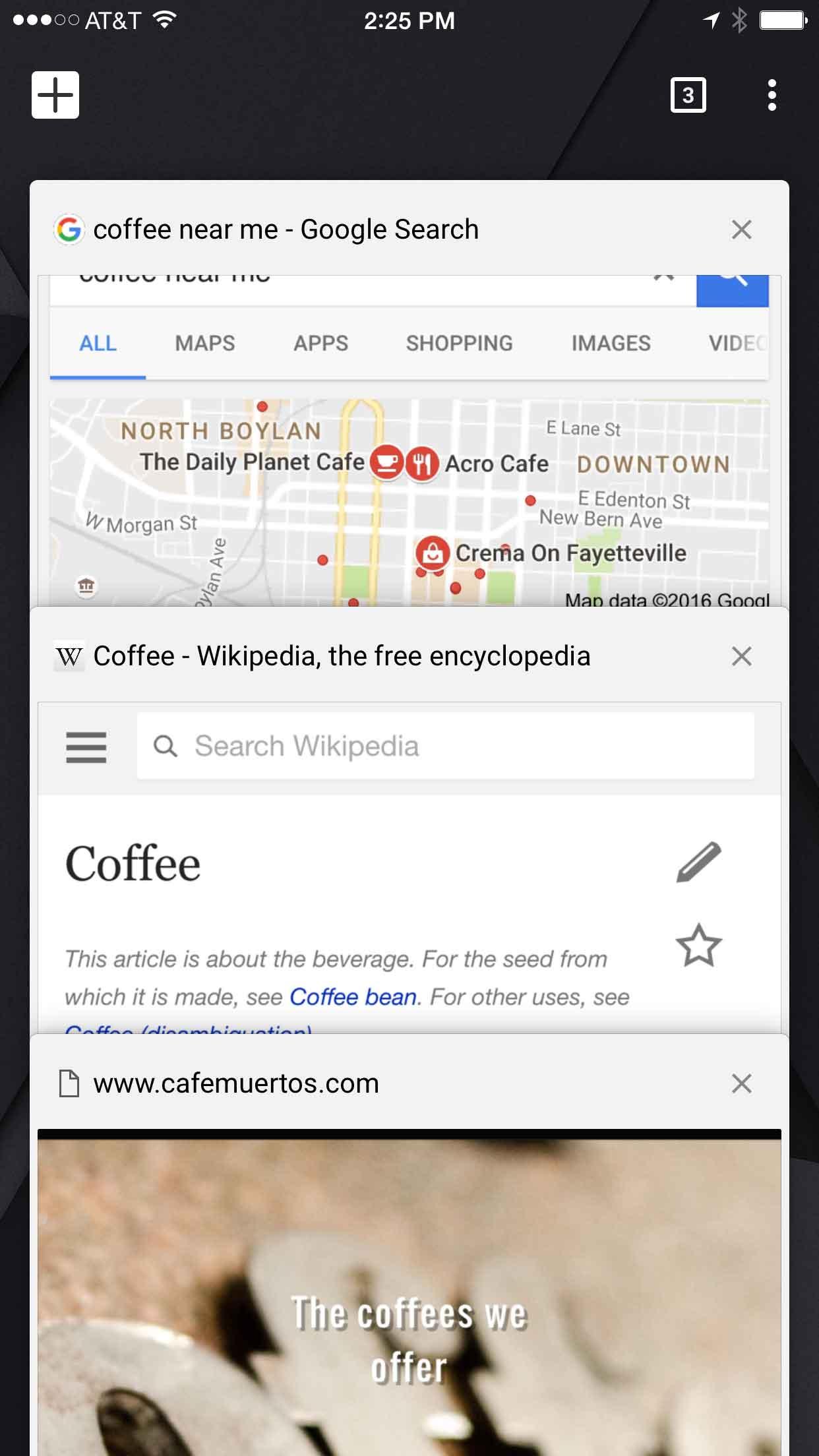 Η εφαρμογή Google Chrome
