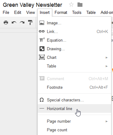 how to turn document page horizontal