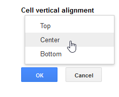 Google docs working with tables page 3 for Table vertical align