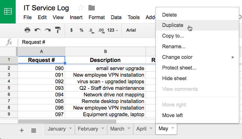 Google Sheets: Working with Multiple Sheets