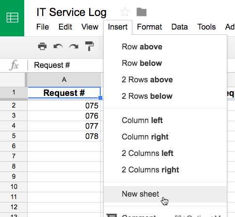 Google Sheets: Working with Multiple Sheets - Full Page