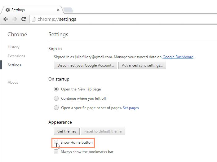 Chrome: Customizing Chrome Print Page