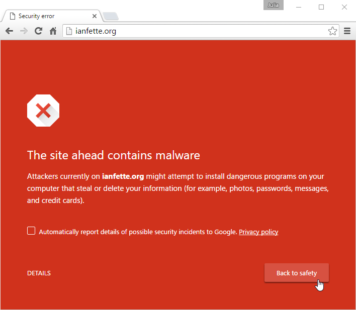 Chrome: Privacy and Security in Chrome
