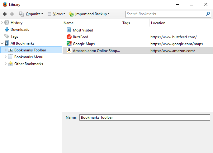 Firefox: Bookmarking in Firefox - Page 3