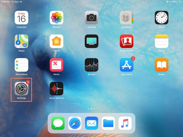 iPad Basics: Security and General Settings