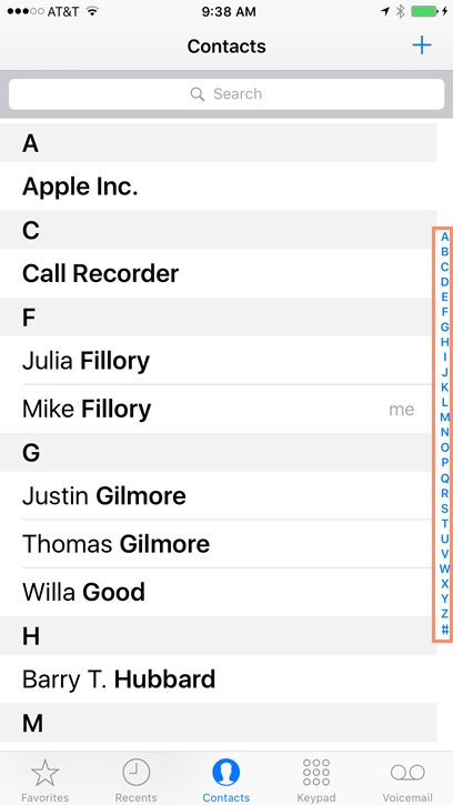 Iphone Basics: Adding And Managing Contacts - Full Page