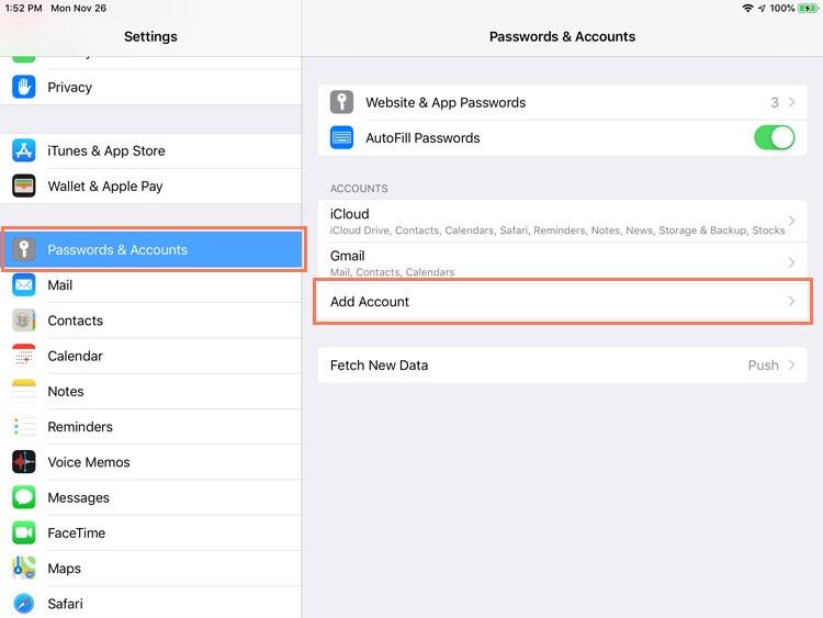 Ipad Basics Mail