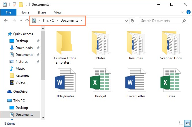 Windows Basics Working With Files