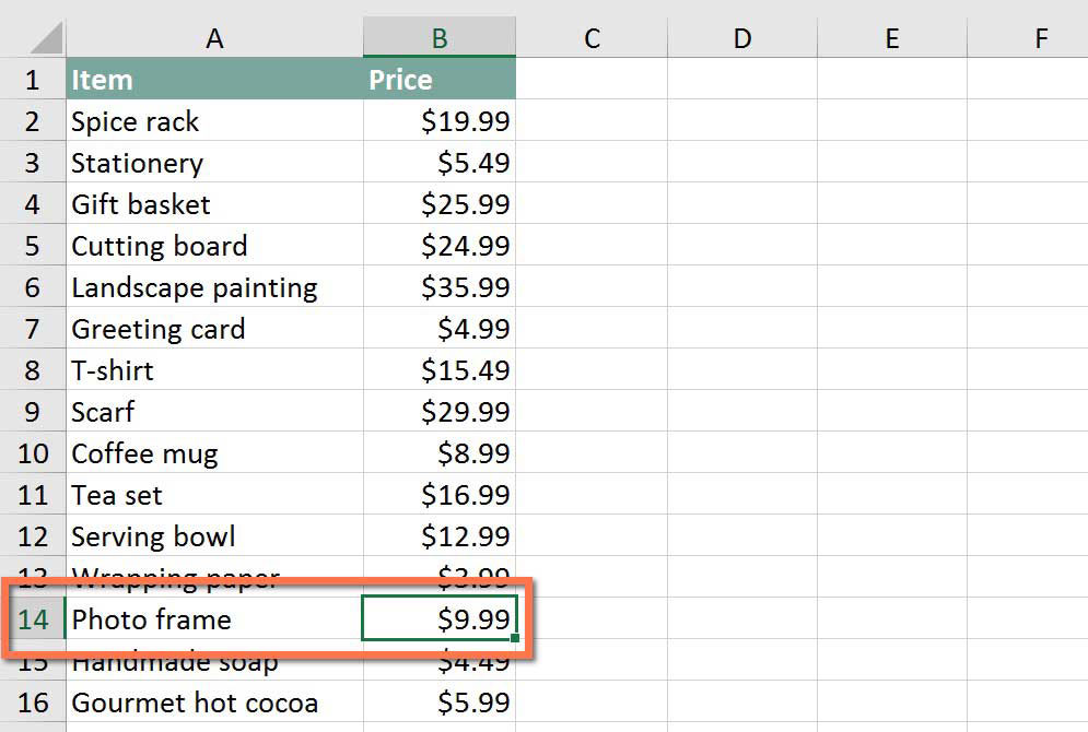 Excel tips how to use excel 39 s vlookup function page 1 for T shirt pricing calculator excel