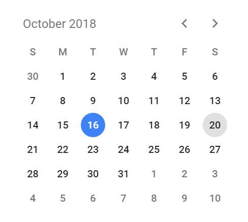 Μίνι ημερολόγιο
