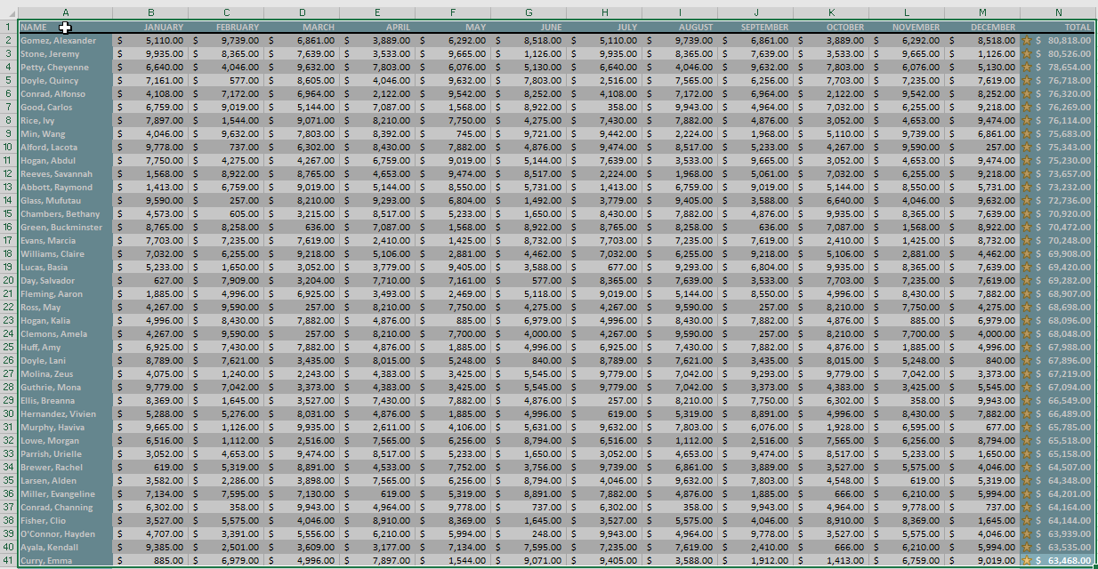 print excel selection to pdf