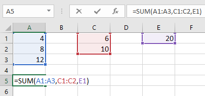 Function with multiple arguments