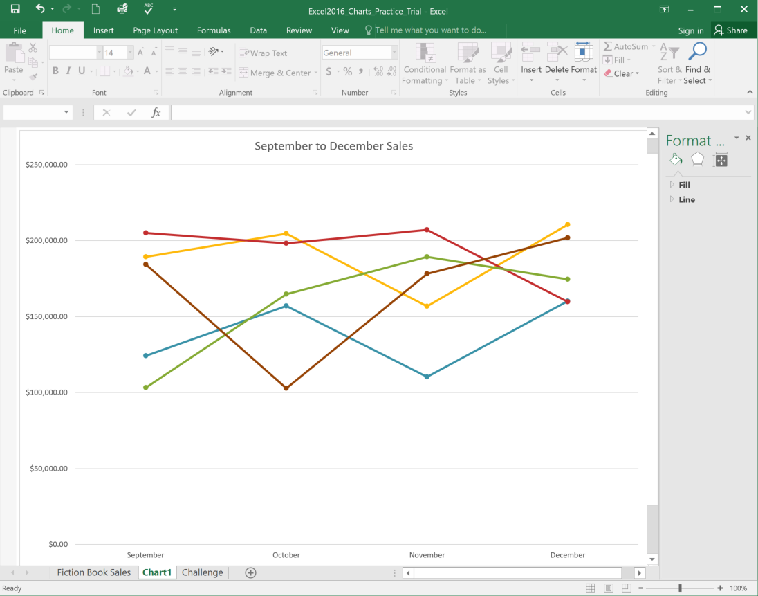 Excel 2016 Charts