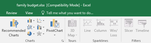 Disabled commands in Compatibility mode