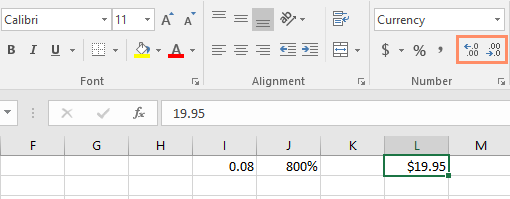 Perintah Increase dan Decrease Decimal