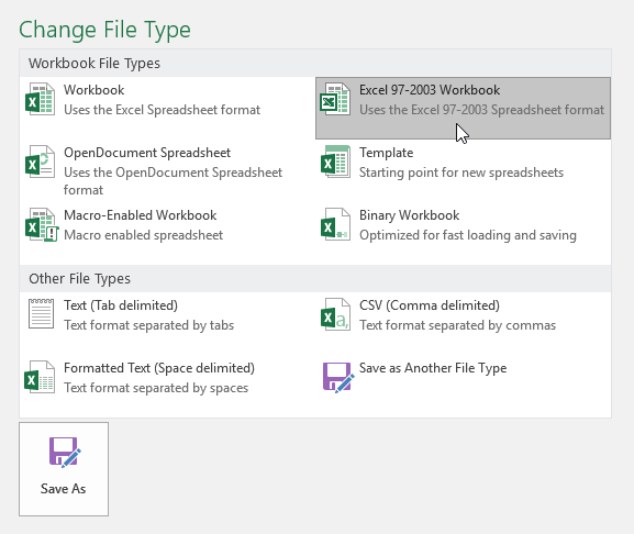 Excel 2016: Saving and Sharing Workbooks