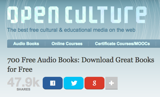 Using the Web to Get Stuff Done: How to Download Free Audiobooks