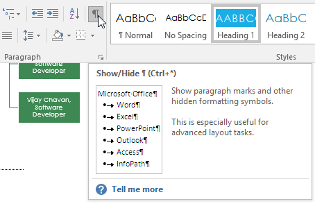 how to delete all breaks in word