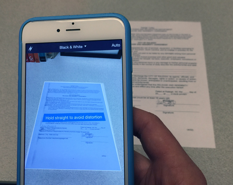 Mobile Device Tips: How to Scan Documents with a Smartphone