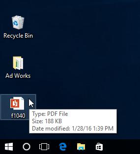Компьютерде сакталган PDF ачуу