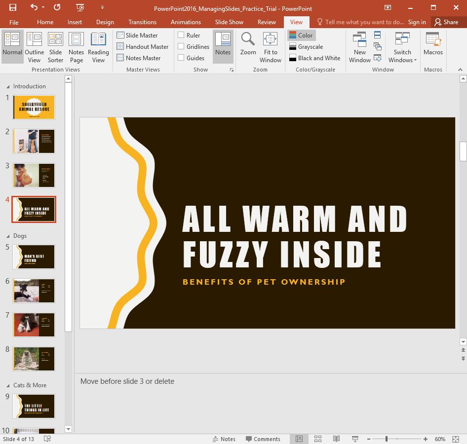 Managing Slides Challenge - www.office.com/setup