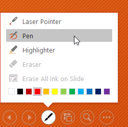 selecting the Pen tool - www.office.com/setup