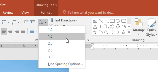 "indents and line spacing To set line spacing and paragraph spacing in word, use the ""indents and spacing"" tab of the ""paragraph"" dialog box you can access this dialog box by clicking the ""paragraph"" dialog box button in the lower right corner of the ""paragraph"" group on the ""home"" tab in the ribbon."